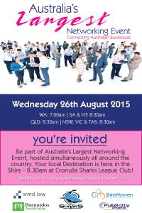 Australia's Largest Networking Event - WMD Law